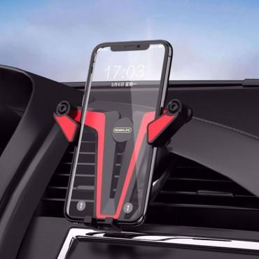 Βάση Αυτοκινήτου Remax RL-CH01 Για Κινητό Τηλέφωνο Στον Αεραγωγό - Μαύρο
