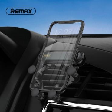 Βάση Αυτοκινήτου Remax Rm-c40 Για Κινητό Τηλέφωνο Στον Αεραγωγό - Μαύρο