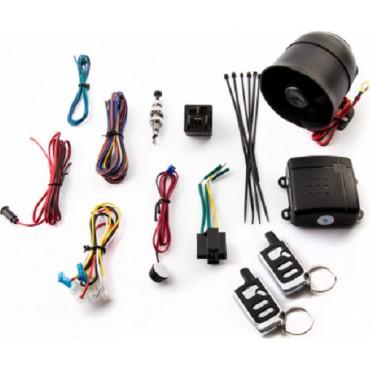 Σύστημα Συναγερμού Αυτοκινήτου SPY® One Way - Σειρήνα, Κεντρικό Κλέιδωμα & Αντικραδασμικό με 2 Τηλεχειριστήρια - Car Alarm