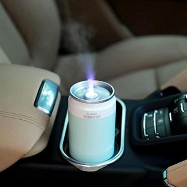 Υγραντήρας + Συσκευή Αρωματοθεραπείας - flame humidifier- OEM