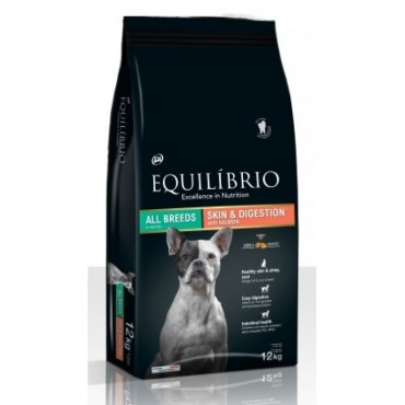 Equilibrio dog skin&digestion salmon 2kg