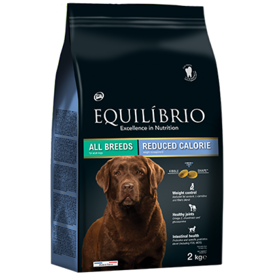 Equilibrio dog reduce calorie all Breeds 2kg