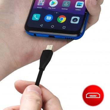 USB σε 2.4 A Φόρτιση Καλωδίου Micro USB & Συγχρονισμός iPipoo kp-17