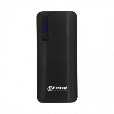 Power Bank Fantesi F6 20000mAh - Με 3 Θύρες USB (Μαύρο)