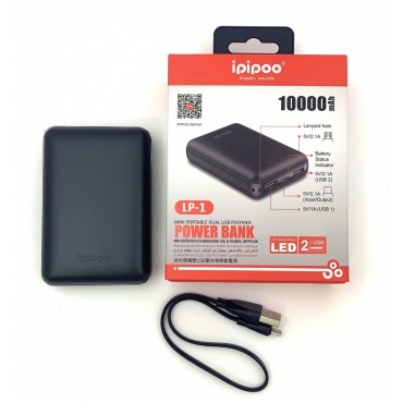 iPipoo Mini PowerBank 10000mAh Black (LP-1)