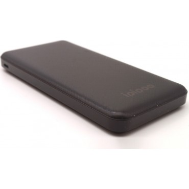 iPipoo Power Bank LP-02 10000mAh USB (Μαύρο)