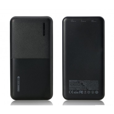 Powerbank Remax Linon 2 10.000mAh RPP-124 (Μαύρο)