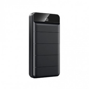 Remax RPP-141 Power Bank 30000mAh Led Screen (Μαύρο)