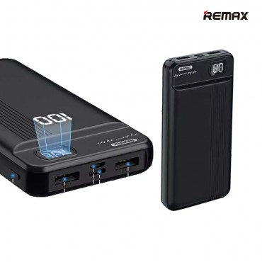 Remax RPP-106 Power Bank 20000mAh 2.1A - With Type C Input (Μαύρο)