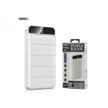 Remax RPP-141 Power Bank 30000mAh Led Screen (Λευκό)