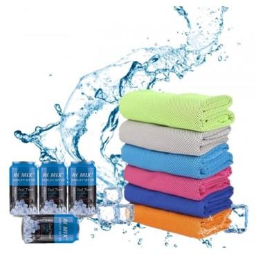 Πετσέτα Ψύξης Romix Cool Towel Μπλέ