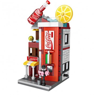 Loz νάνο τουβλάκια ministreet coca cola 396 τεμ.