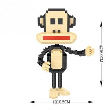 Loz νάνο τουβλάκια iblock monkey 610 τεμ.