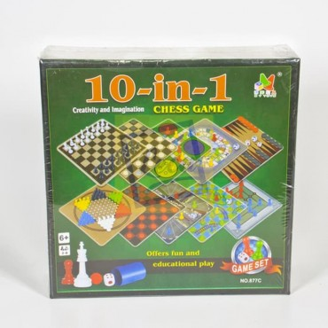 Επιτραπέζιο παιχνίδι 10 σε 1!