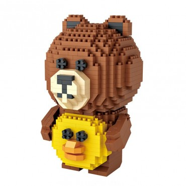 Loz νάνο τουβλάκια iblock bear 700 τεμ.