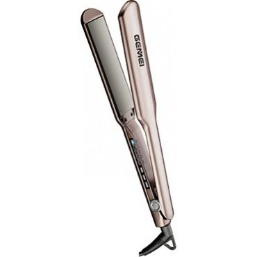 Επαγγελματική Ισιωτική Μαλλιών με οθόνη Led και ρύθμιση θερμοκρασίας – 58W – GM-419 – GEMEI