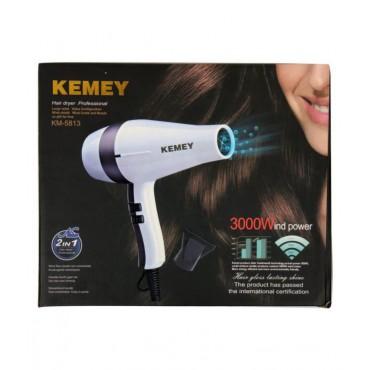Πιστολάκι Σεσουάρ Μαλλιών Kemei KM-5813 3000W
