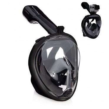 Full Face Ninja Free Breath - Μάσκα Θαλάσσης (Μαύρο)