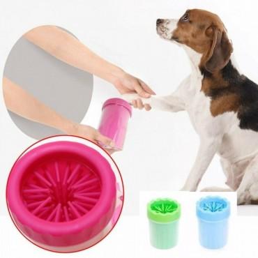 Δοχείο καθαρισμού ποδιών για σκύλους πράσινο