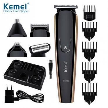 Επαναφορτιζόμενη Μηχανή για Κούρεμα ξύρισμα και τριμάρισμα 8 σε 1 - KM-526 - KEMEI