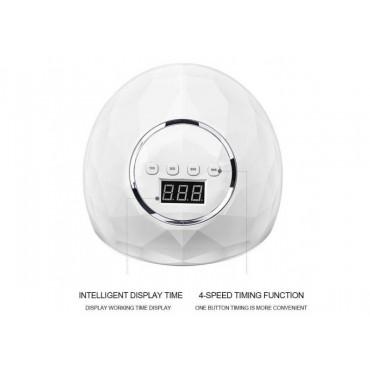 Επαγγελματικό Φουρνάκι Νυχιών 86 watt με 39 led F6 Smart 2.0 Nail Lamp ΟΕΜ