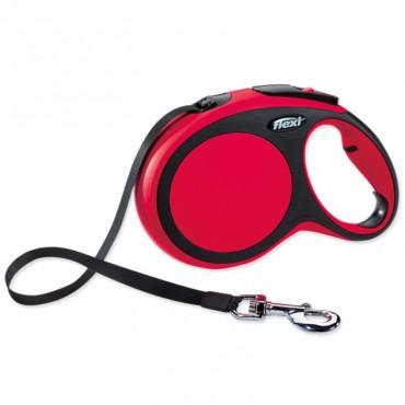 Flexi Comfort Ιμάντας 3m-12kg XS (Κόκκινο)