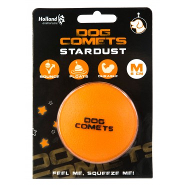 Dog Comets Ball Stardust πορτοκαλί