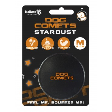Dog Comets Ball Stardust μαύρη
