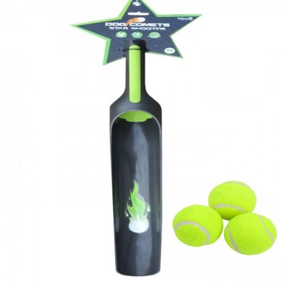 Dog Comets εκτοξευτήρας μπάλας + 3 μπάλες δώρο