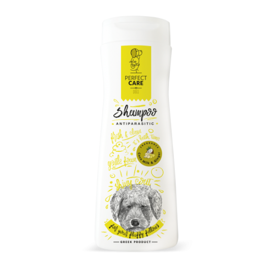 PERFECT CARE SHAMPOO DOG ANTIPARASITIC MILK&GINGER 400ml