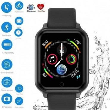 Smartwatch-Bluetooth Τ70 (Βlack)
