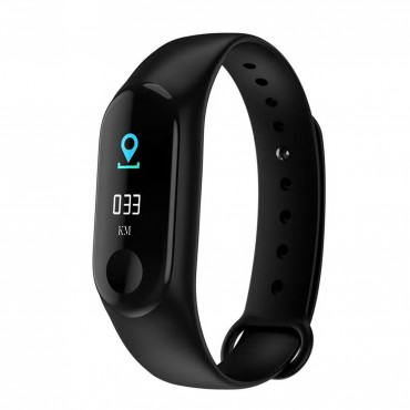 Smartwatch-Bluetooth M3-02  (Black)