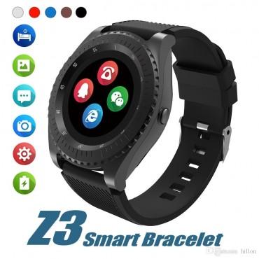 Smartwatch-Bluetooth-sim Z3 (Black)