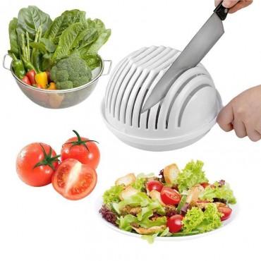 Μπολ Εύκολης Κοπής Λαχανικών και Φρούτων – Salad Cutter Bowl
