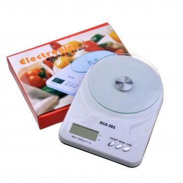 Ψηφιακή Ζυγαριά Κουζίνας Ακριβείας sca-301