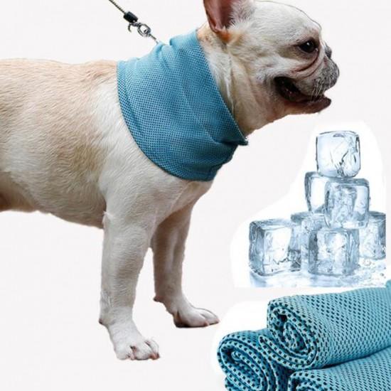 Cooling dog bandana