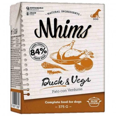 Mhims υγρή τροφή πάπια&λαχανικά 300gr